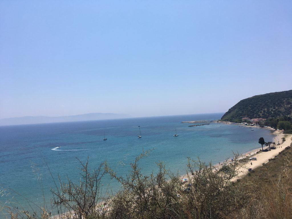 Paradise beach in Katelios