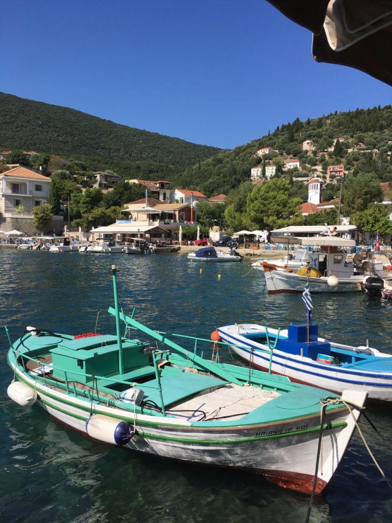 Fishermen boats in Assos