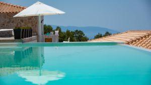 Kefi Spitia Guest house in Kefalonia piscine
